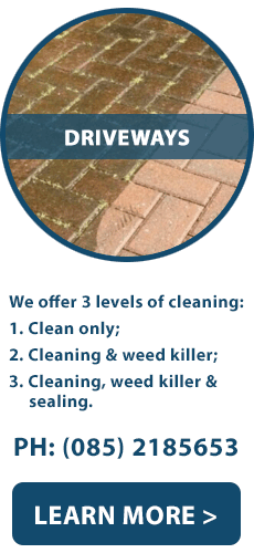 Driveway Cleaning | Limerick | North Tipperary | North Cork