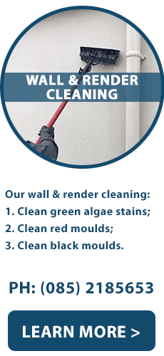 Wall and Render Cleaning | Limerick | North Tipperary | North Cork